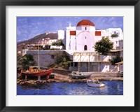 Framed Mykonos I