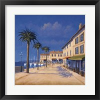 Framed Seaside Promenade II