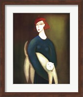 Framed Lady and Cocotte