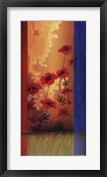 Painter's Garden I Framed Print