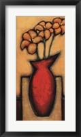 Framed Fleurs de Soleil I