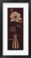 Floral Dance I Framed Print