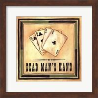 Framed Dead Man's Hand