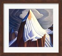 Framed Mount Lefroy