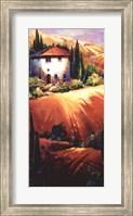 Framed Golden Tuscany