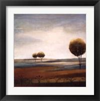 Framed Tranquil Plains II