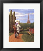 Framed Road to Paris
