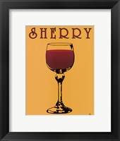 Framed Sherry