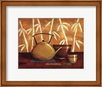 Framed Bamboo Tea Room I