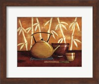 Framed Bamboo Tea Room I