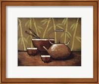 Framed Bamboo Tea Room II