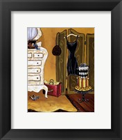 Dressing Room I Framed Print