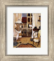 Framed French Boudoir I