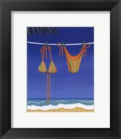 Beach Bound - Bikini Framed Print