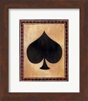 Framed Lucky Shuffle I