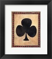 Framed Lucky Shuffle III