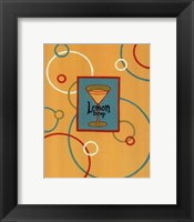 Framed Lemon Drop