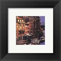 Mediterranean Port Framed Print