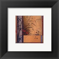 Bamboo Division Framed Print