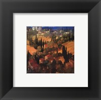 Framed Tuscan Castle