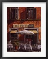 Framed Caf Roma