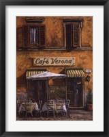 Framed Caf Verona