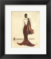 Framed Glamour Collection IV