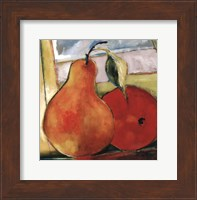 Framed Great Pear
