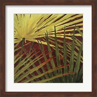 Framed Three Palms, Panel B