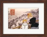 Framed Jeanne, Sa Mere Et La Mer