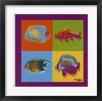 Framed Happy Fishes
