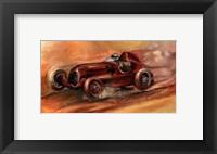Framed Le Mans 1935