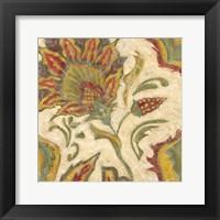 Framed Paisley III
