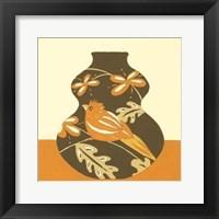 Framed Take Wing in Orange III