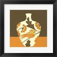Framed Take Wing in Orange IV