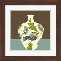 Framed Take Wing in Blue IV