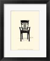 Framed Designer Chair IV