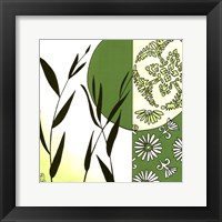 Framed Kimono Garden IV