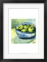 Bowl of Fruit II Framed Print