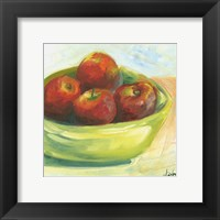 Framed Bowl of Fruit III