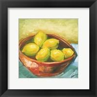Bowl of Fruit IV Framed Print