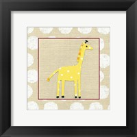 Framed Katherine's Giraffe