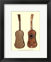 Framed Antique Guitars II