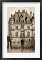 Framed Sepia Chateaux V