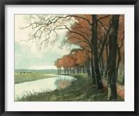 Framed Autumn Landscape II