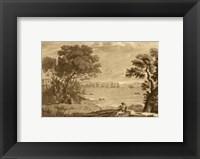 Framed Pastoral Landscape VI