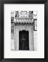 Framed Temple Door