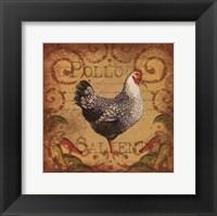 Framed Pollo Caliente I