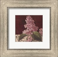 Framed Postcard Lilac