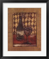 Framed Fine Wine I